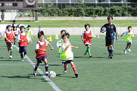 子供の習い事サッカー教室
