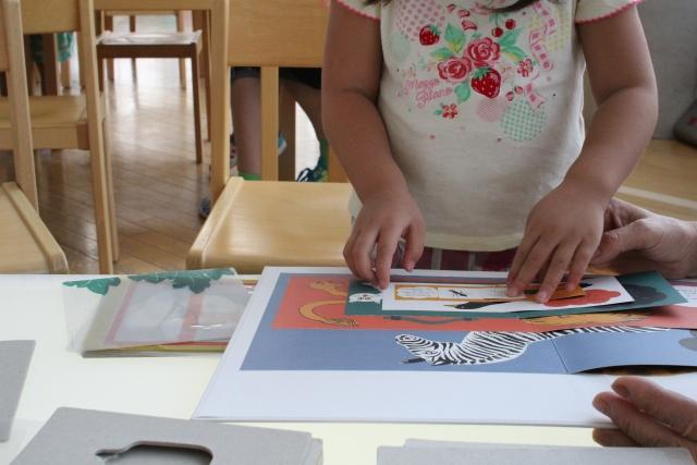幼稚園児に人気の習い事お絵描き教室