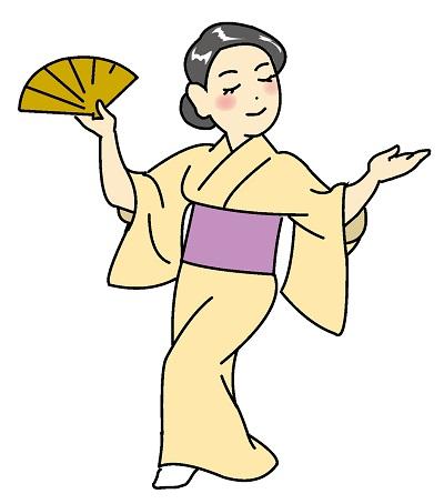 日本舞踊のレッスン内容