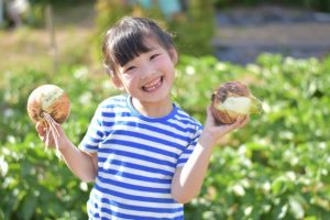 子供の農業体験学習