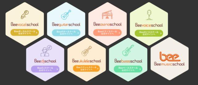 Beeの教室はどんな所