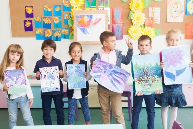 子どもの美術教室
