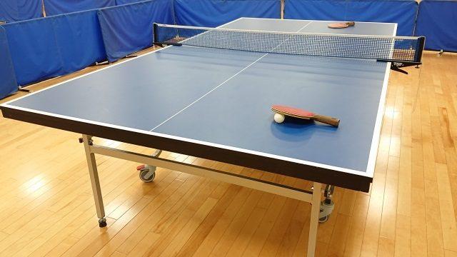 子供の習い事で卓球の準備
