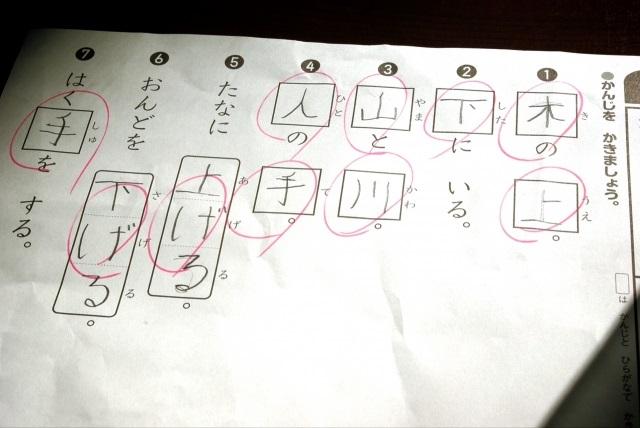 小学生の漢字は情景が思い浮かぶように教える