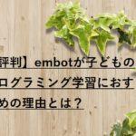 【評判】embotの口コミ・料金はどう?プログラミング講師がおすすめの理由とは!