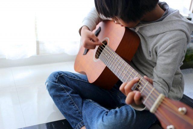 子供の習い事ギターのメリット