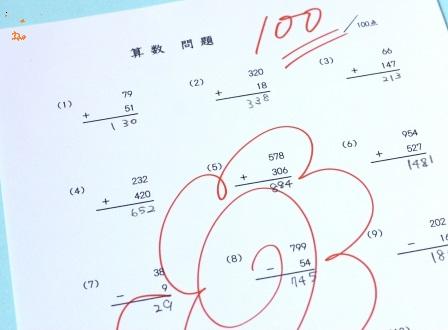 Z会小学生コースを使って成績が上がる