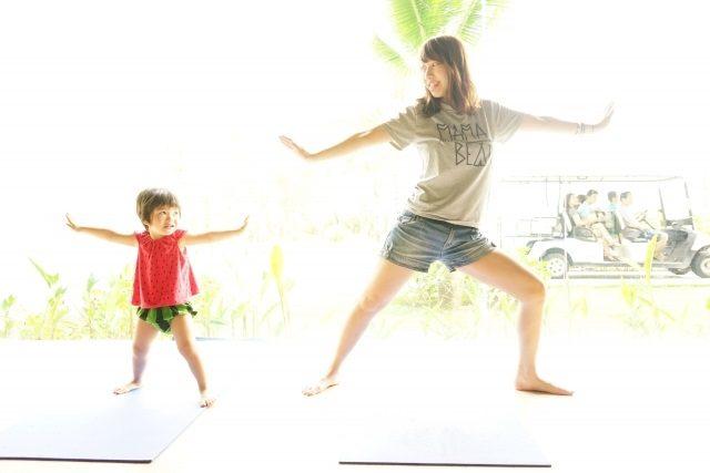 情操教育で運動