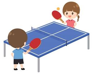 子供の卓球