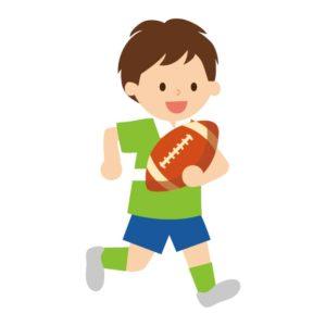 子供の習い事ラグビーの練習
