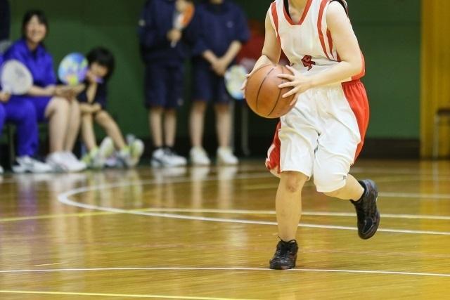 子供の習い事バスケ