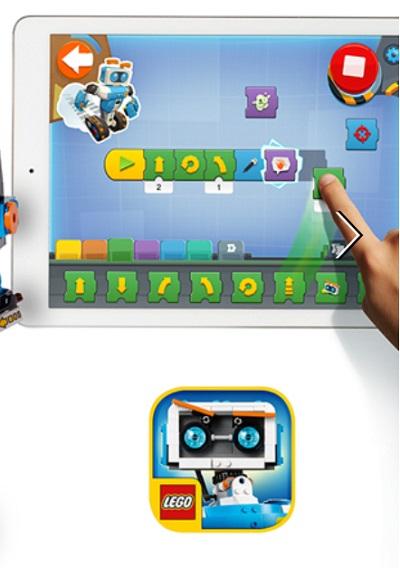 レゴブーストのアプリ