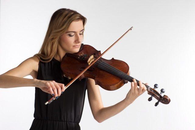 バイオリンの練習は姿勢が重要