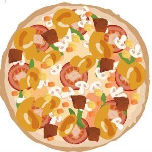 分数はピザに例えて教える