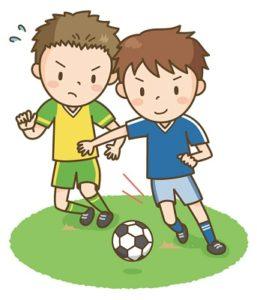 子供の習い事サッカーの練習