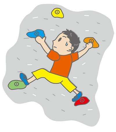 子供のボルダリングはどんなもの