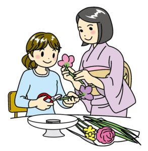 子供の習い事華道・生け花