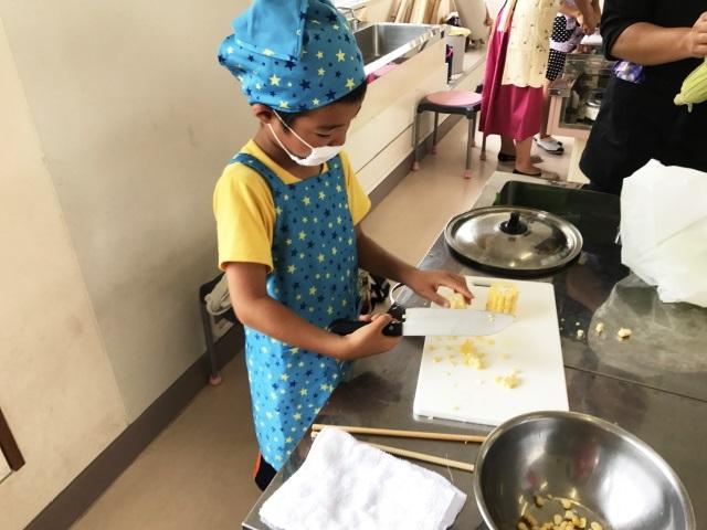 子供の習い事料理教室のメリットは