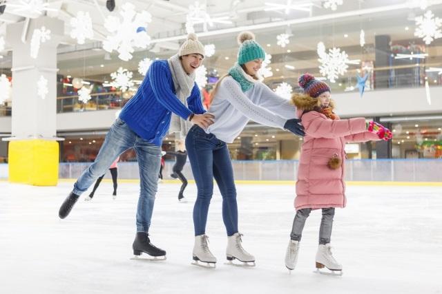 スケートを体験してみよう