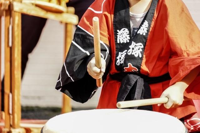 子供の習い事和太鼓