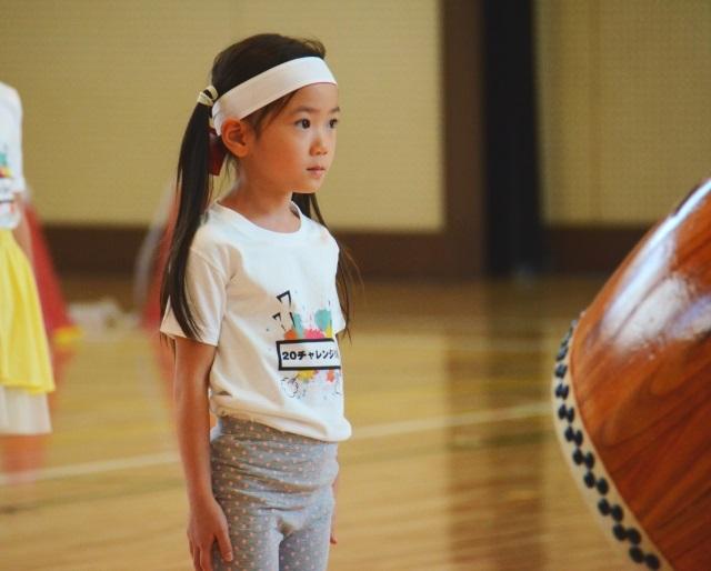 5歳におすすめの習い事和太鼓