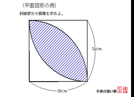 中学受験算数の平面図形
