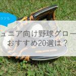 【少年野球】グローブおすすめ人気ランキング20選!軟式・サイズ・選び方のコツも解説!