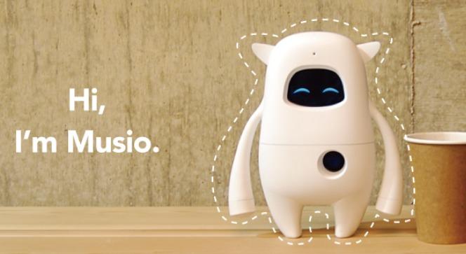 ミュージオイングリッシュのAIロボット