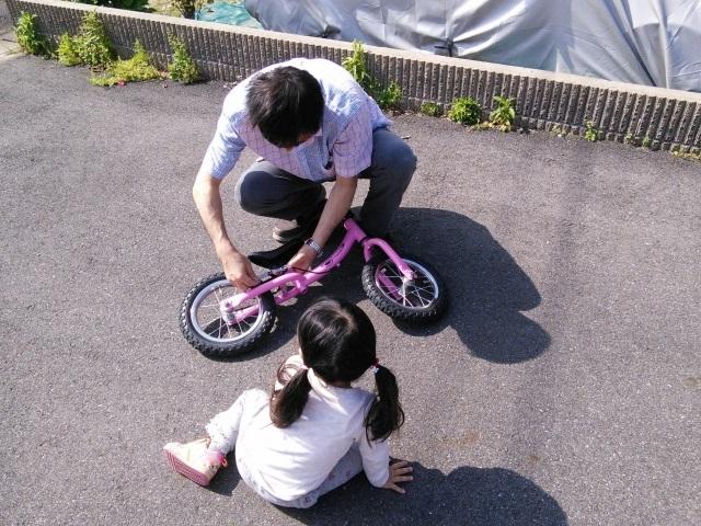 子どもの自転車の練習はいつから