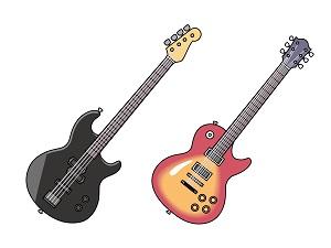 エレキギターの見本