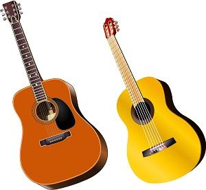 アコースティックギターの見本