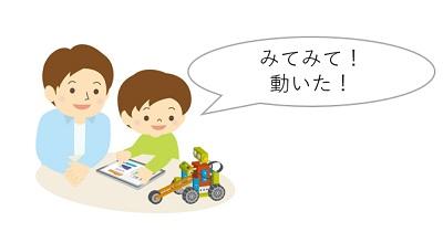 子どもプログラミングは能動的な発言を待つ