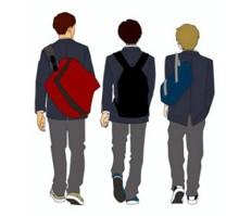 中学生高校生の男子におすすめの通学バッグ