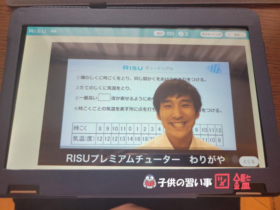 RISU算数の動画解説