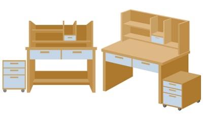 学習机は収納力・デザインで選ぶ