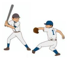 子供の野球の練習法:素振り