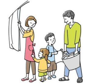 子どもがお手伝いをするメリット