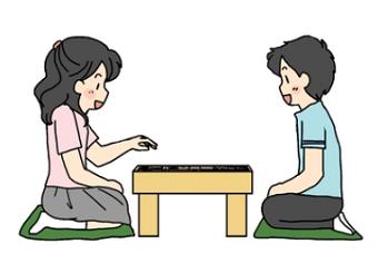 子どもに将棋を魅せる
