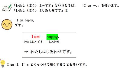 英語で自分の気持ちを表現する