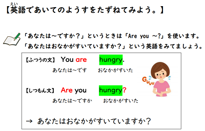 【be動詞+形容詞】英語無料学習プリント