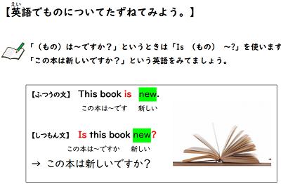 【be動詞+形容詞の質問の仕方】英語無料学習プリント