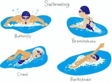 スイミング4泳法