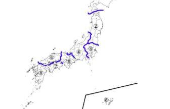 小4社会都道府県の学習プリントテスト