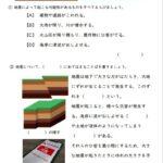 小6理科「土地のつくりと変化」の学習プリント   無料ダウンロード・印刷