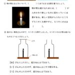 小6理科「燃焼の仕組み」の学習プリント   無料ダウンロード・印刷