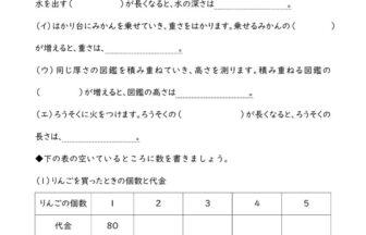 小6算数「比例と反比例」学習プリント・練習問題 | 無料ダウンロード印刷